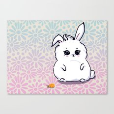 little fat bunny Canvas Print