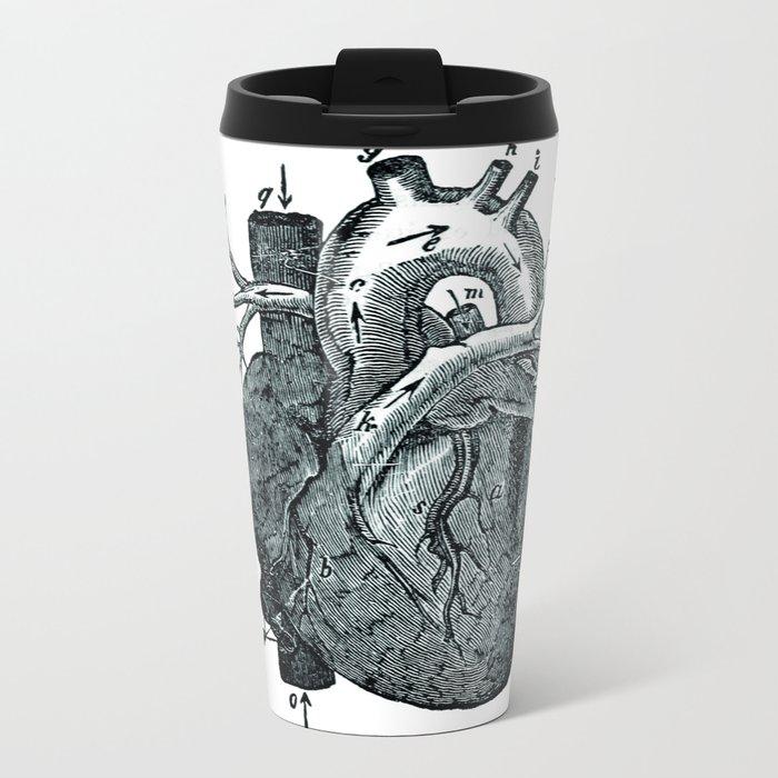 Heart Metal Travel Mug