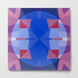 Circle Geometric Design 777 Metal Print