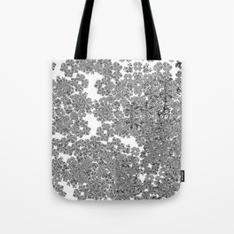 Expansion (White) Tote Bag