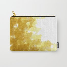 Gold abstract Carry-All Pouch