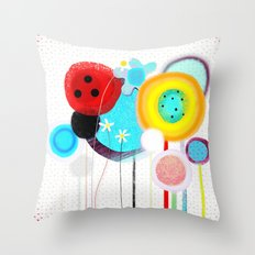 I am going to eat you up  Throw Pillow