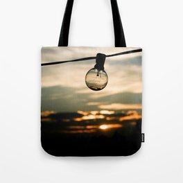 Unlit Sunset.  Tote Bag