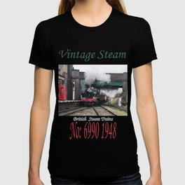Vintage Steam Railway Train at the Station T-shirt