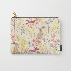 rabbits field Carry-All Pouch