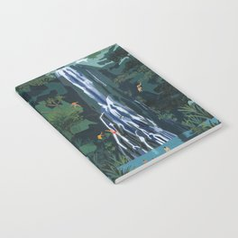 Waterfall stop Notebook