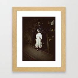 Ghost Girl Framed Art Print