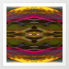 Internal Kaleidoscopic Daze-11 Art Print