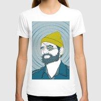 steve zissou T-shirts featuring Steve Zissou by Chelsea Kepner