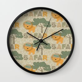 Amazing Safari Design Wall Clock