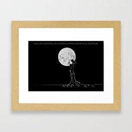 Bitter Little Pill Framed Art Print