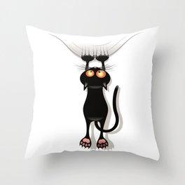 Cat 01 Throw Pillow