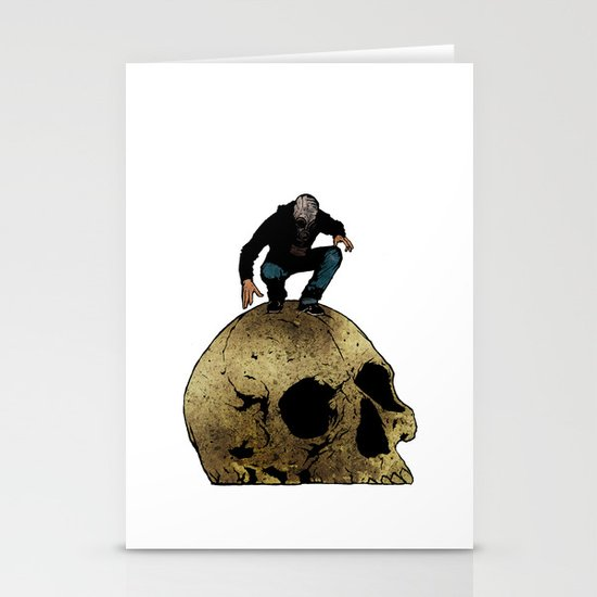 Leroy And The Giant's Giant Skull Stationery Cards