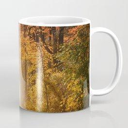 Autumn Fall Forest Path -  Nature Landscape Photography Coffee Mug