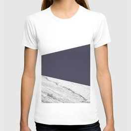 Marble Eclipse blue Geometry T-shirt