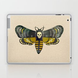 Death's head hawkmoth moth Laptop & iPad Skin