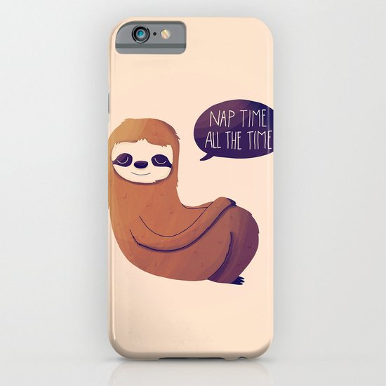 Nap Time All The Time iPhone & iPod Case