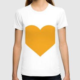 Heart (Orange & White) T-shirt
