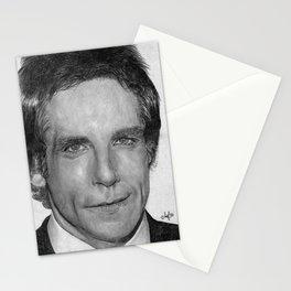 Ben Stiller Traditional Portrait Print Stationery Cards