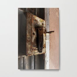 Cell Lock  Metal Print