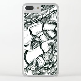 That Tingly Feeling Clear iPhone Case
