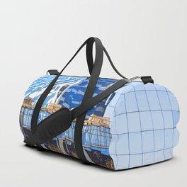 Twisted Buildings Duffle Bag