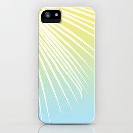 Pastel Palm 03 iPhone Case