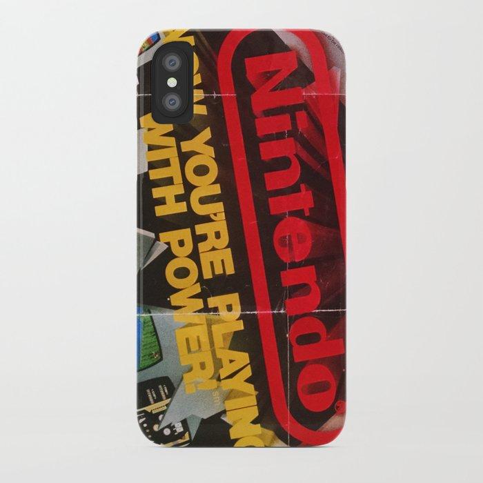 Nintendo Power iPhone Case