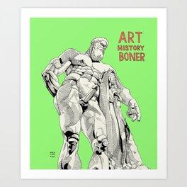 Farnese Hercules AHB Art Print