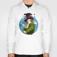 mad Hoodies featuring Mad Hatter by Diogo Verissimo