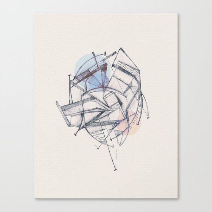Structura II Canvas Print
