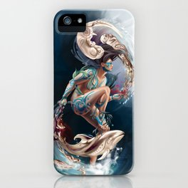 Sedna: Inuit Goddess of the Sea iPhone Case