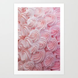 Blush Pink Frosting Art Print