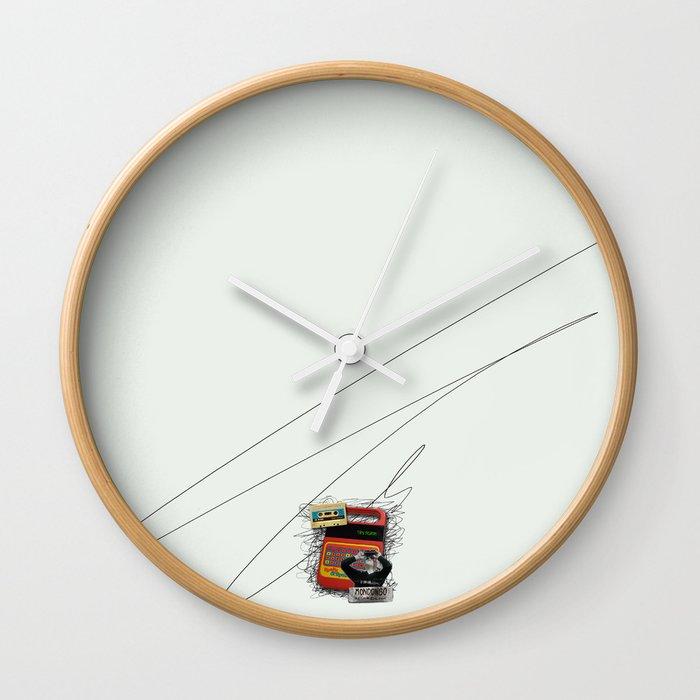 Mondongo Records Wall Clock