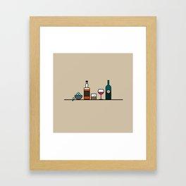 Camaraderie  Framed Art Print