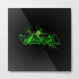 """VACA - MP: """"A Incrível Vaca"""" Metal Print"""