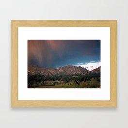 Wind River Range 1970s, Box 3, slide 19 Framed Art Print