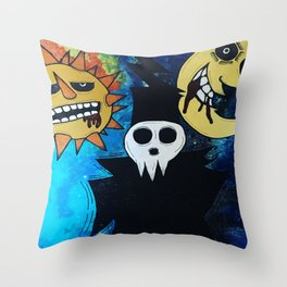 Tribute to Soul Throw Pillow