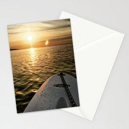Paddle Board Sunset Stationery Cards