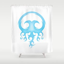 Tribal Jelly Shower Curtain
