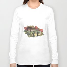Jurassic Car Long Sleeve T-shirt