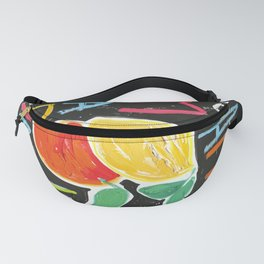 You Are Made of Magic Rainbow Citrus Motivational Poster Fanny Pack