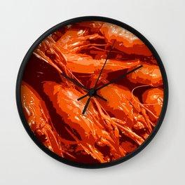 Tasty Langoustines Wall Clock