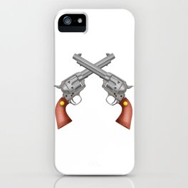 Pistols iPhone Case