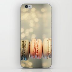 neapolitan macarons iPhone & iPod Skin
