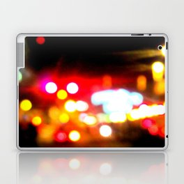 bokeh in manhattan Laptop & iPad Skin