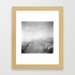 The Blue Road to Ireland Framed Art Print