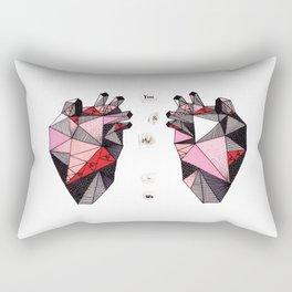 You + Me = We Rectangular Pillow