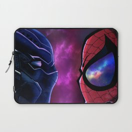 Panther vs Spidey Laptop Sleeve