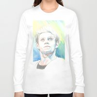 niall horan Long Sleeve T-shirts featuring Niall by Rach
